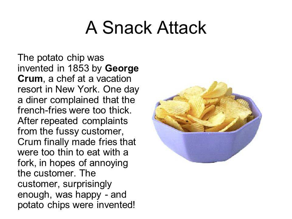 A Snack Attack