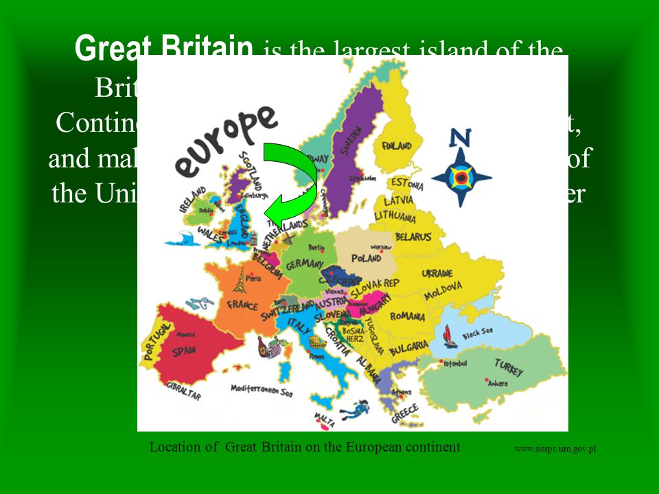 Great Britain is the largest island of the British Isles