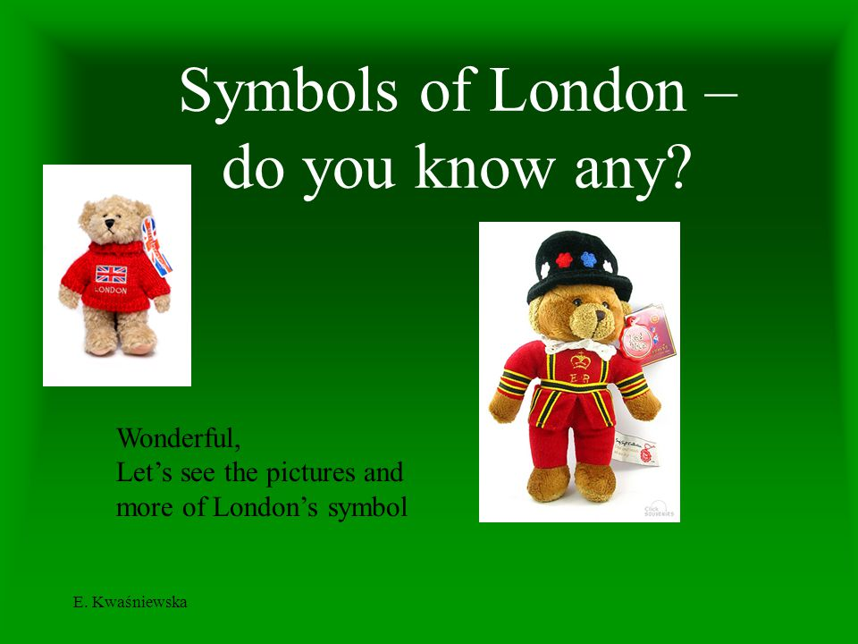 Symbols of London – do you know any