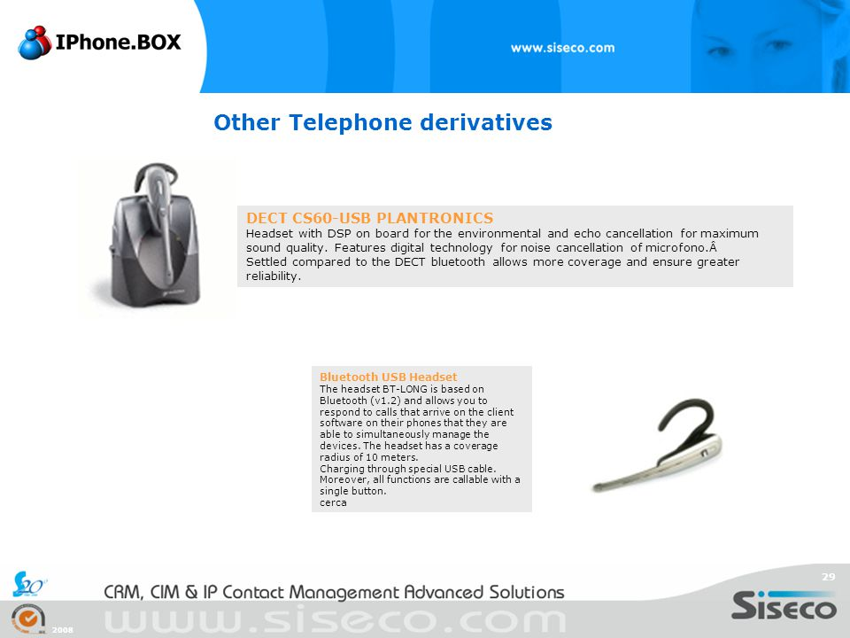 Other Telephone derivatives