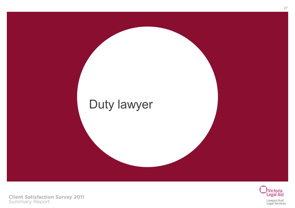 Duty lawyer