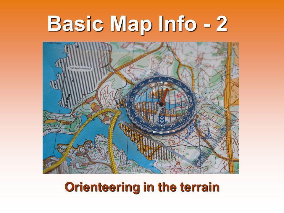 Orienteering in the terrain