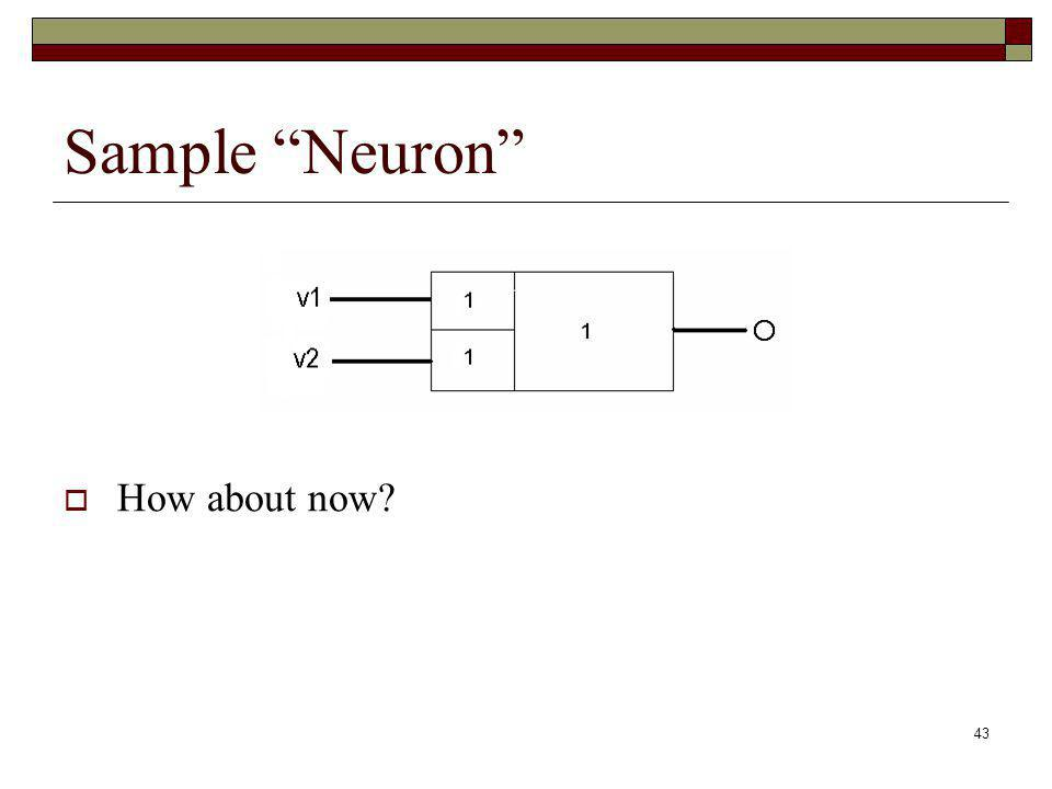 Sample Neuron How about now