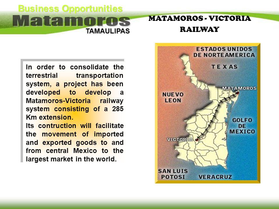 MATAMOROS - VICTORIA RAILWAY