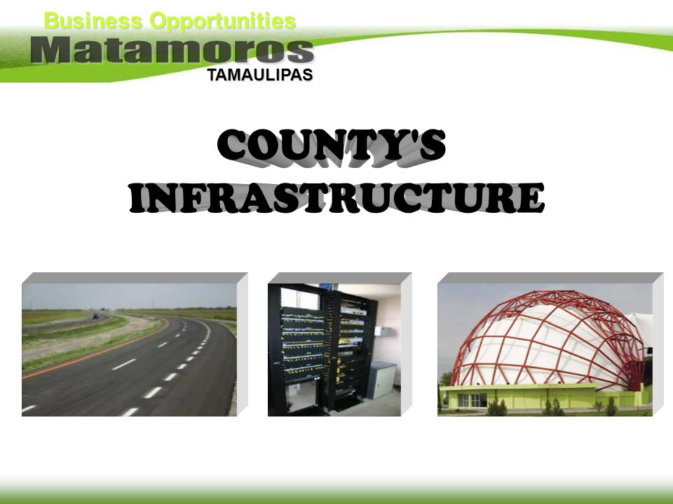 COUNTY S INFRASTRUCTURE