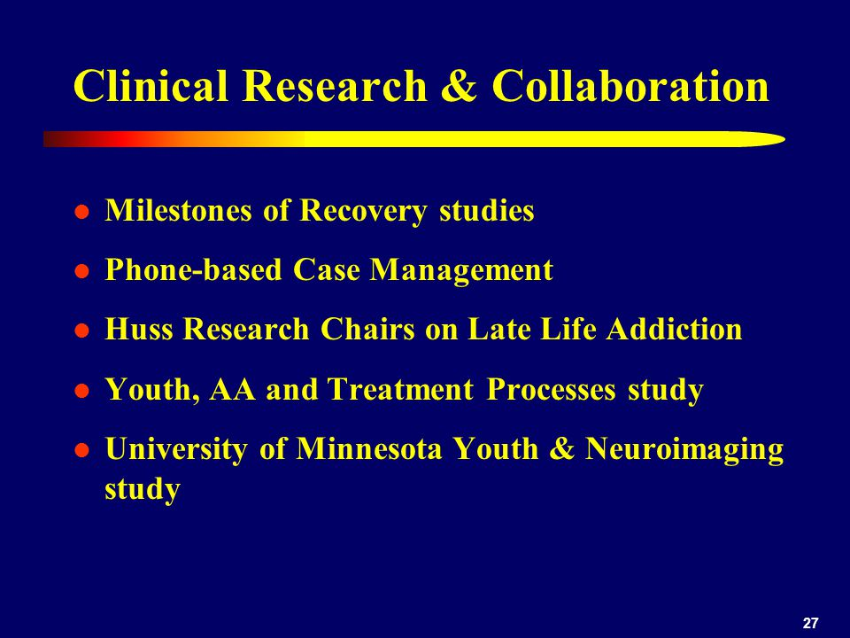 Clinical Research & Collaboration