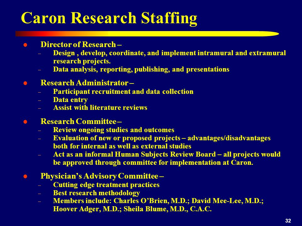 Caron Research Staffing