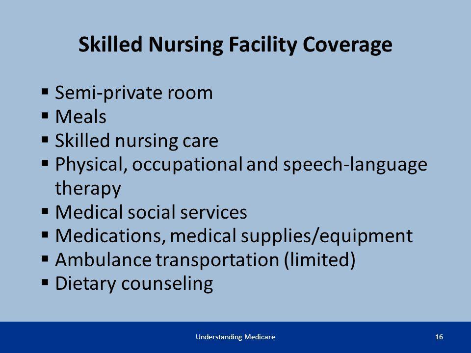 Skilled Nursing Facility Coverage