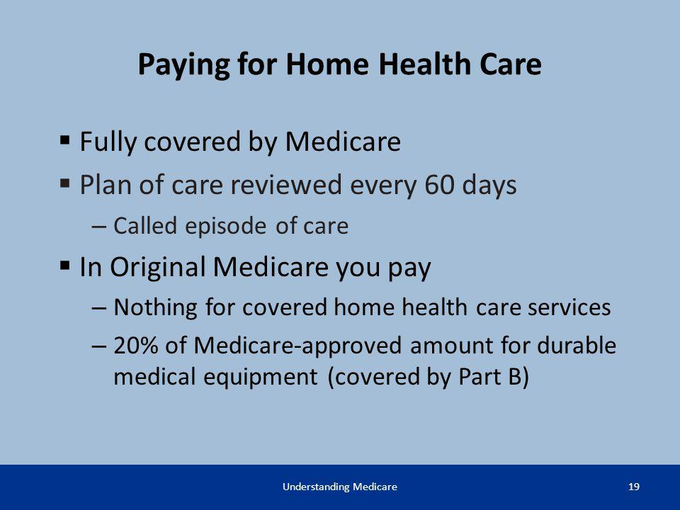 Paying for Home Health Care