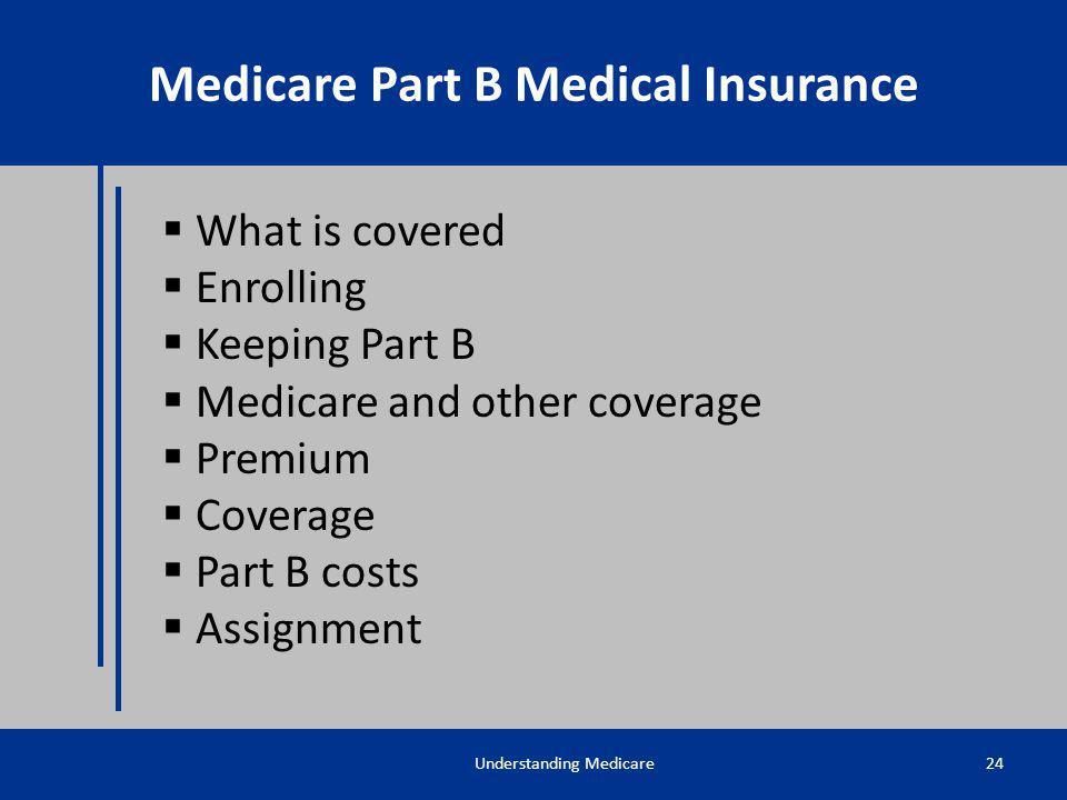 Medicare Part B Medical Insurance