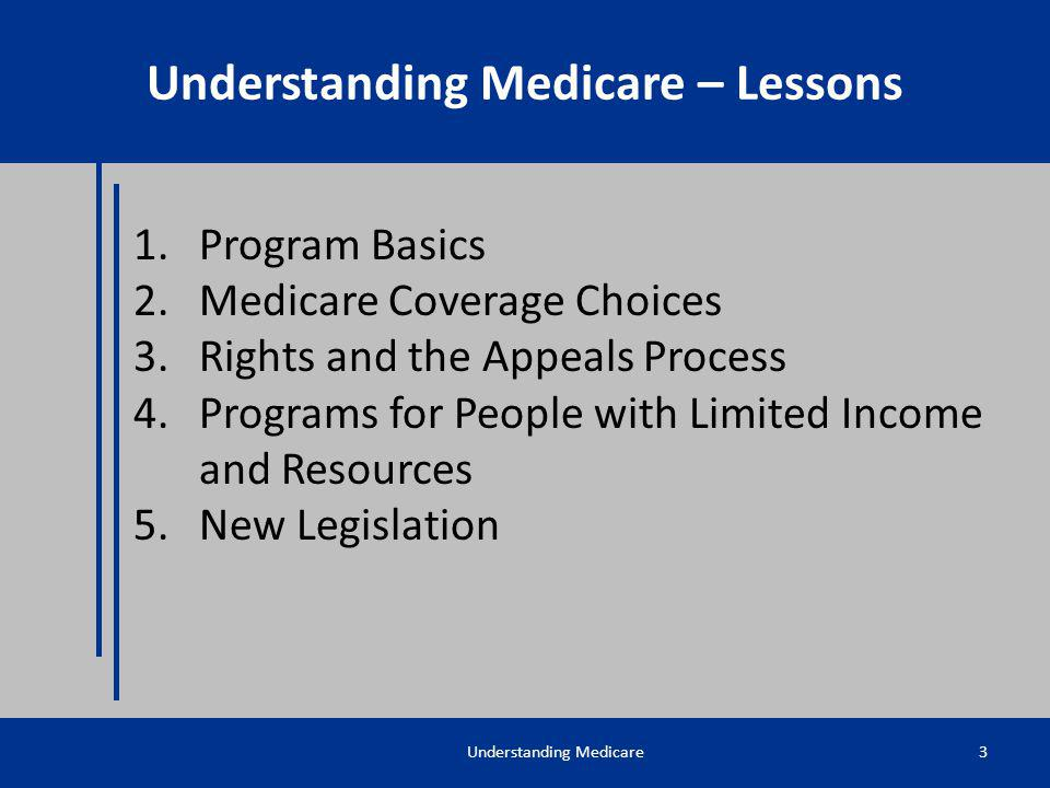Understanding Medicare – Lessons