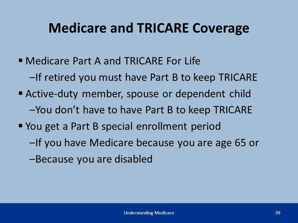Medicare and TRICARE Coverage