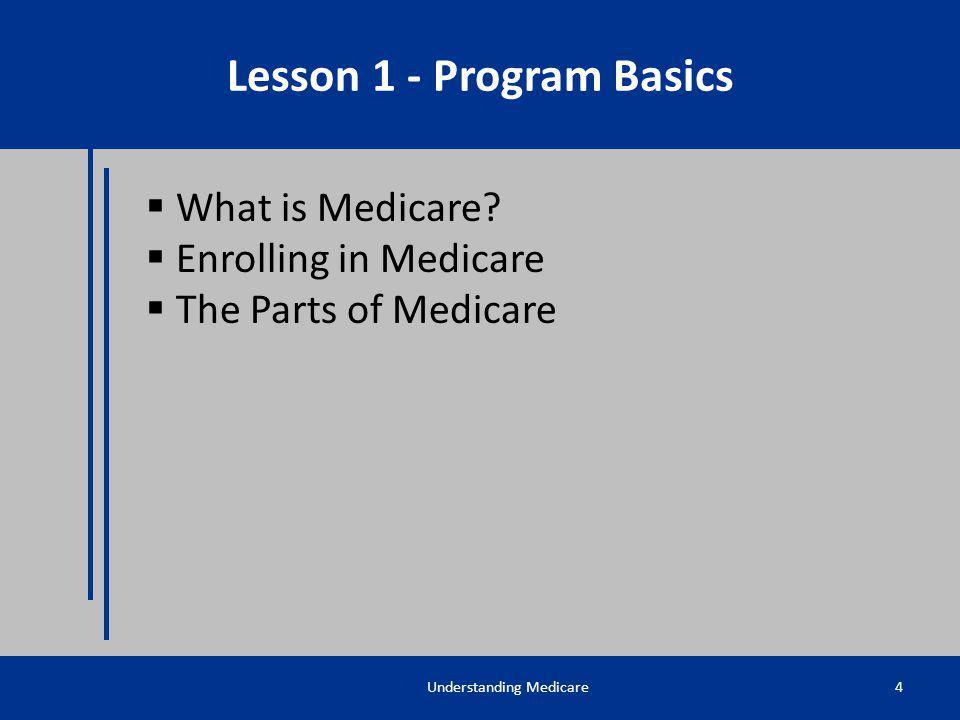 Lesson 1 - Program Basics