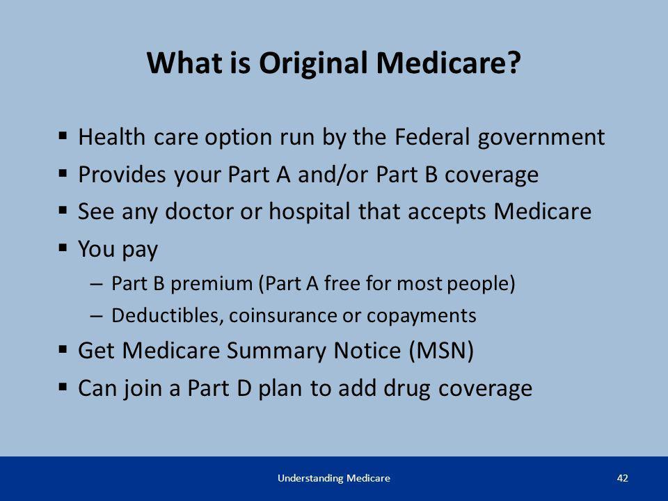 What is Original Medicare