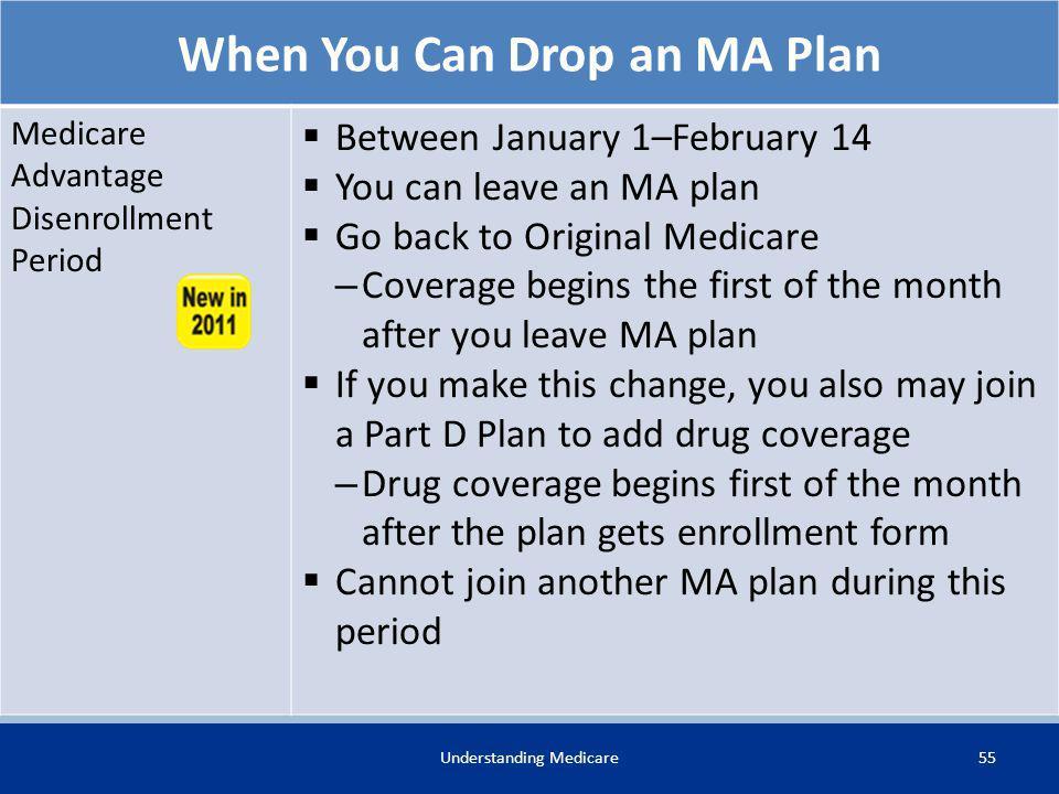 When You Can Drop an MA Plan