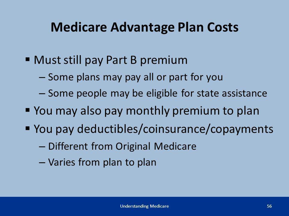 Medicare Advantage Plan Costs