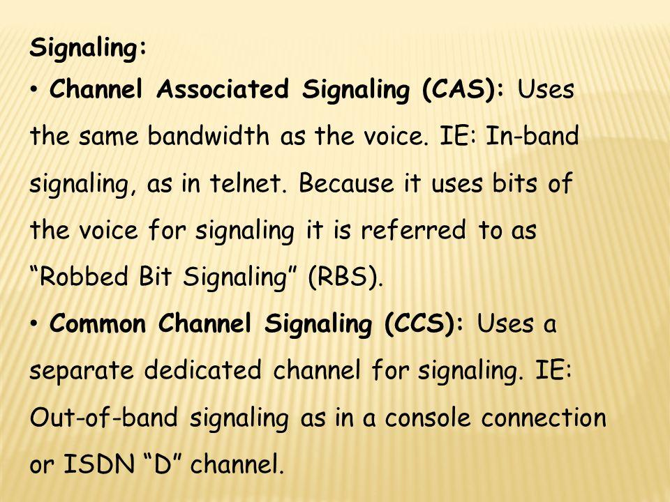 Signaling: