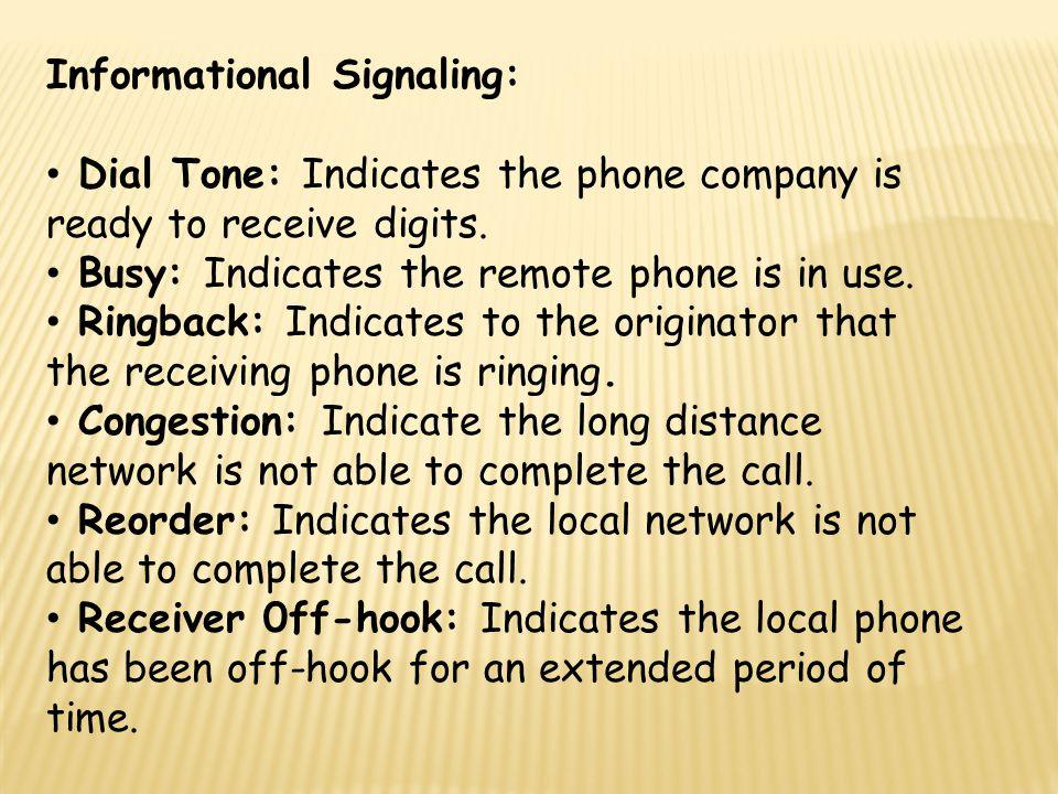 Informational Signaling: