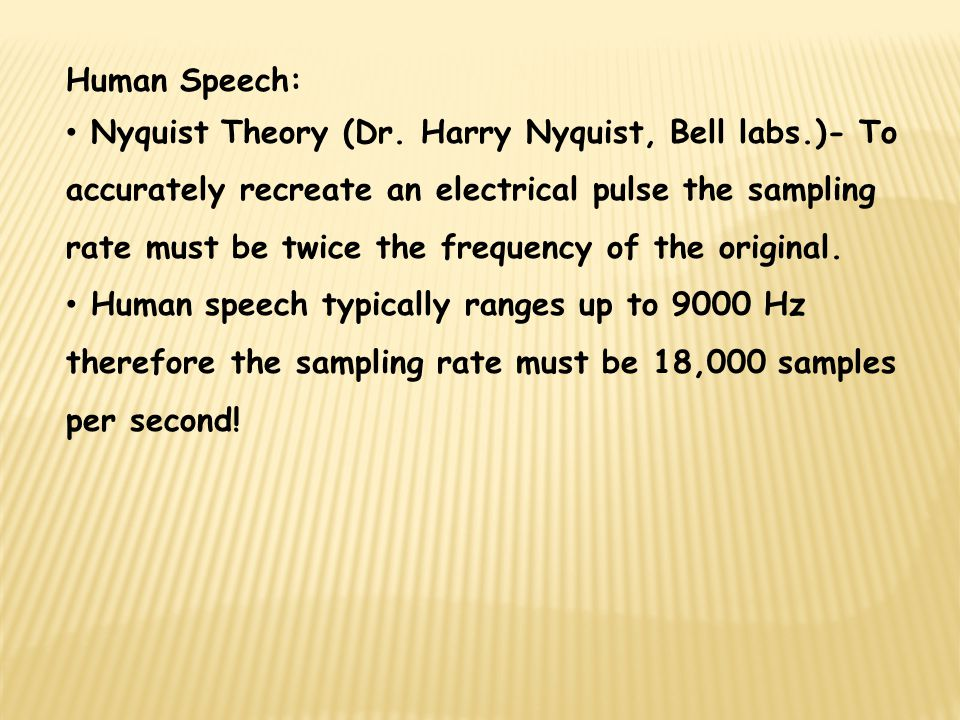Human Speech: