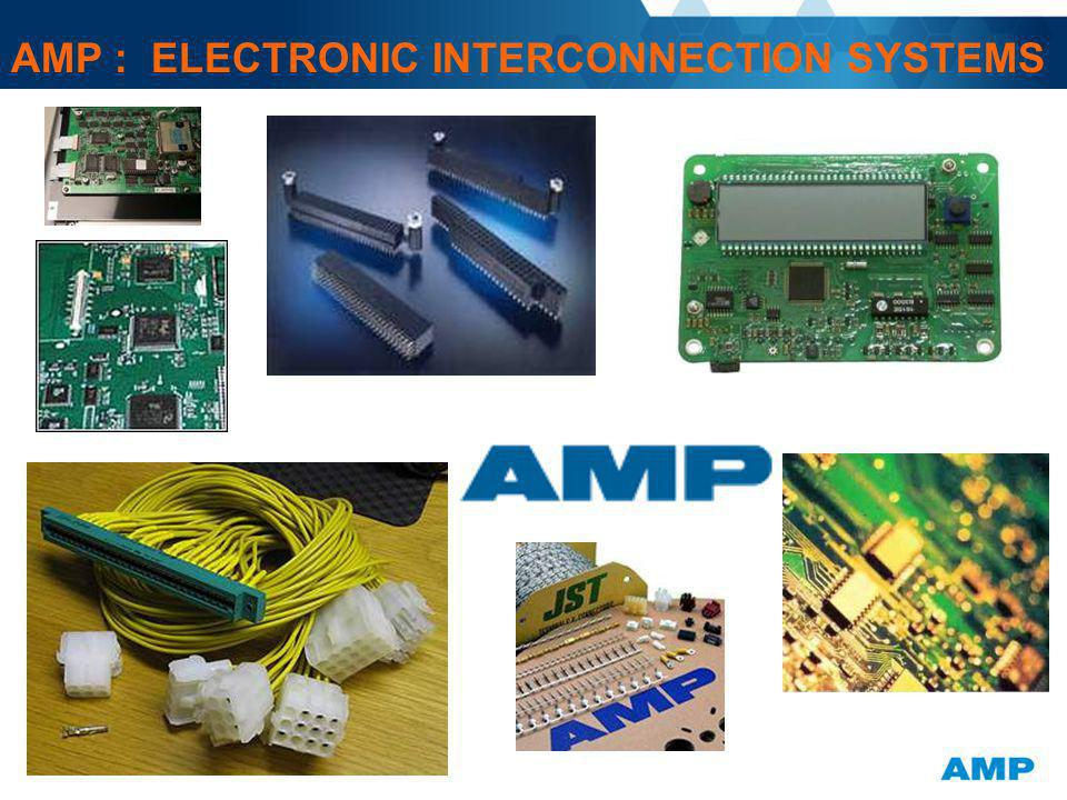 AMP : ELECTRONIC INTERCONNECTION SYSTEMS