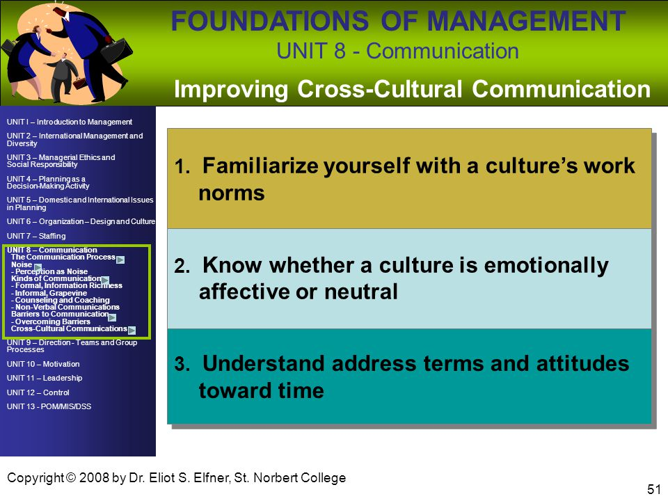 Improving Cross-Cultural Communication