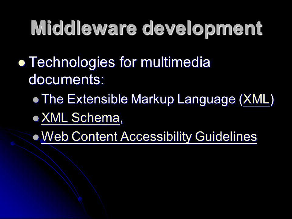 Middleware development