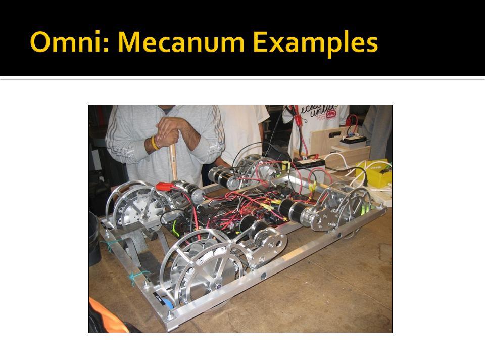 Omni: Mecanum Examples