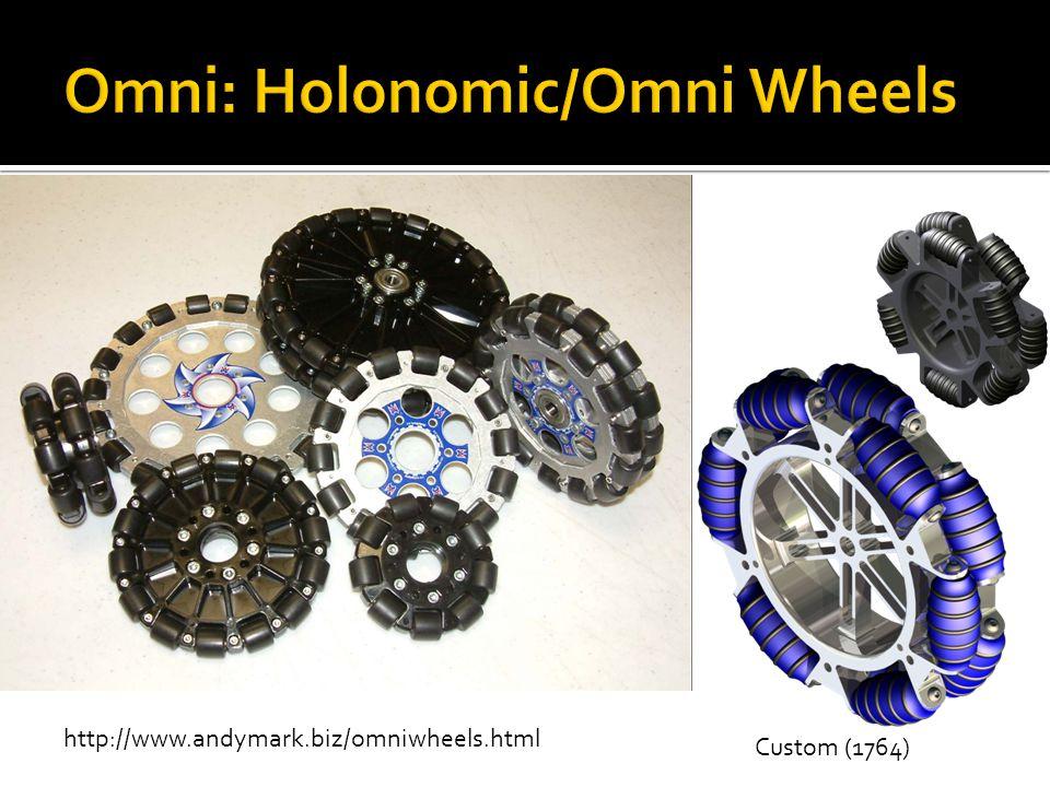 Omni: Holonomic/Omni Wheels