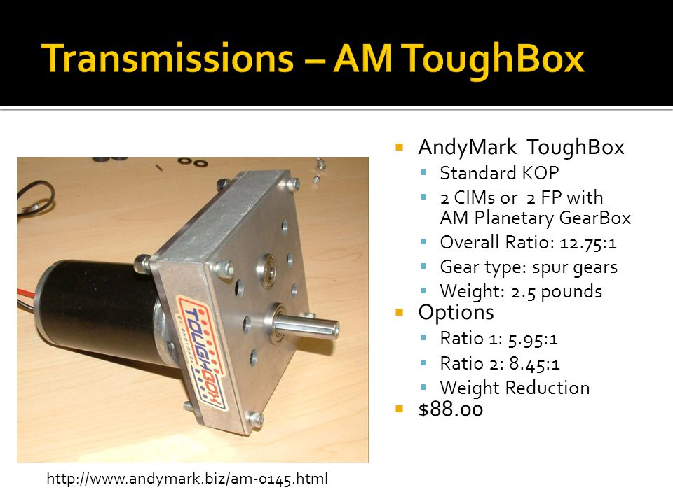 Transmissions – AM ToughBox