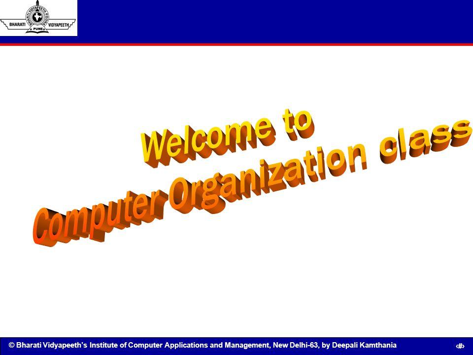 Computer Organization class