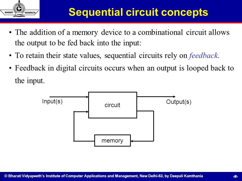 Sequential circuit concepts