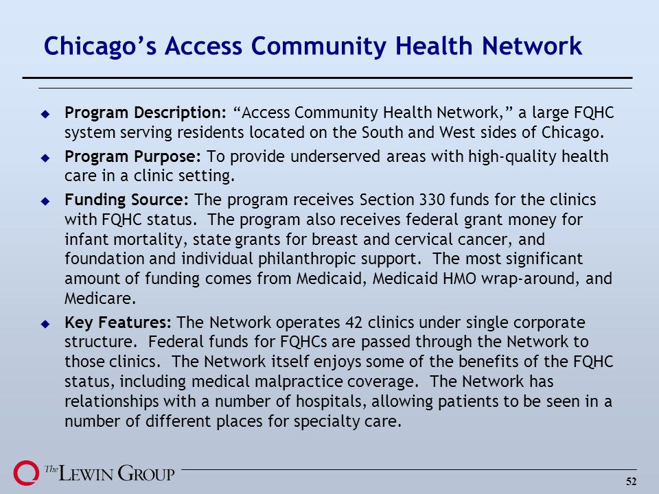 Chicago's Access Community Health Network