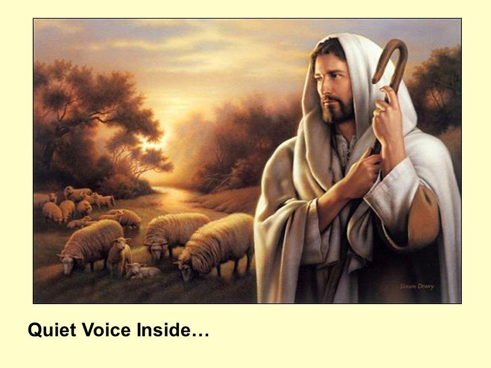 Quiet Voice Inside…