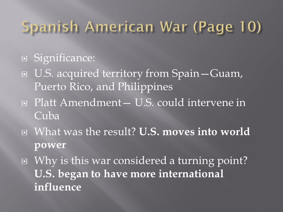 Spanish American War (Page 10)