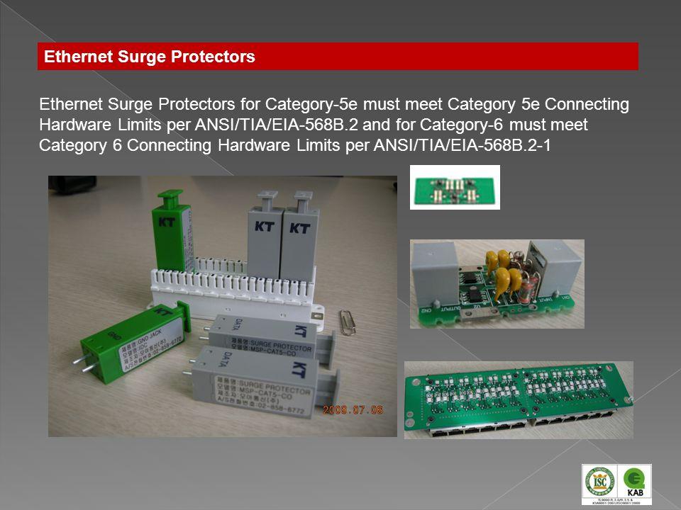 Ethernet Surge Protectors