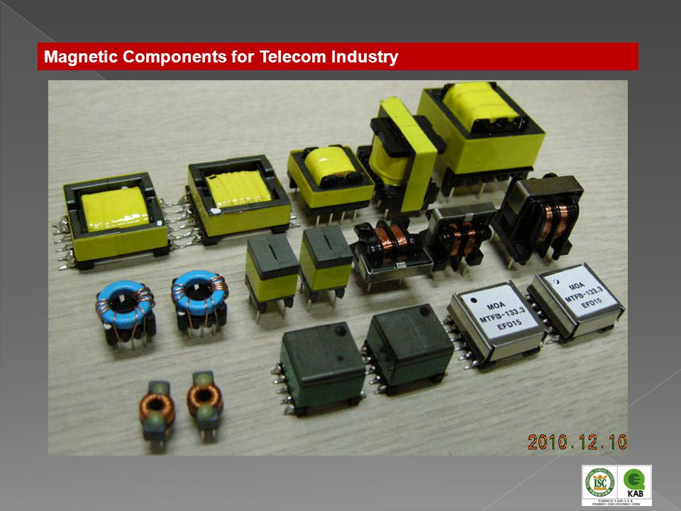 Magnetic Components for Telecom Industry