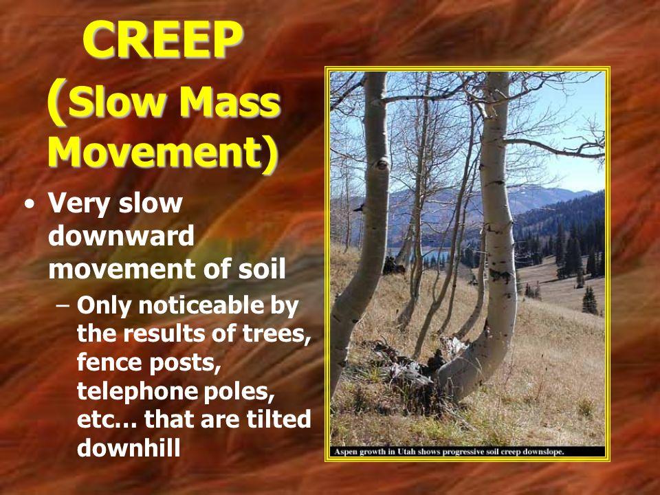 CREEP (Slow Mass Movement)