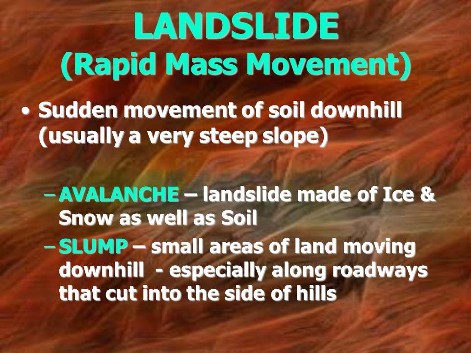 LANDSLIDE (Rapid Mass Movement)