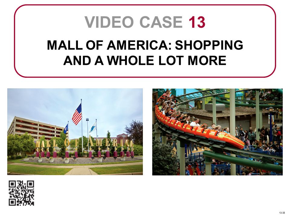 MALL OF AMERICA: SHOPPING AND A WHOLE LOT MORE