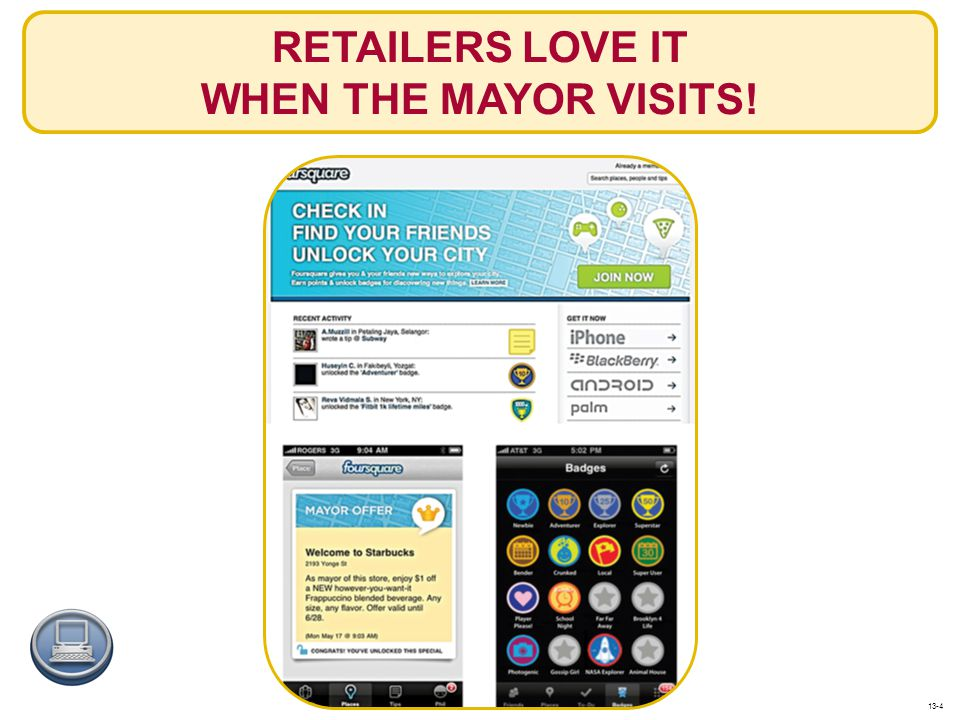 RETAILERS LOVE IT WHEN THE MAYOR VISITS!