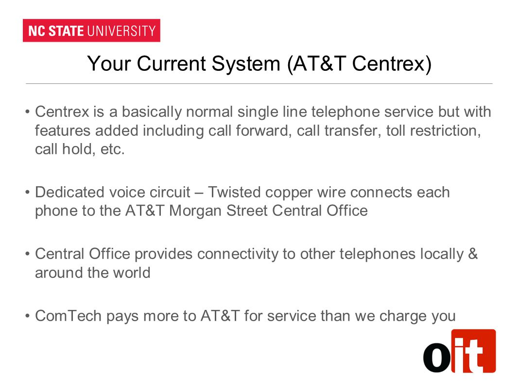 Your Current System (AT&T Centrex)