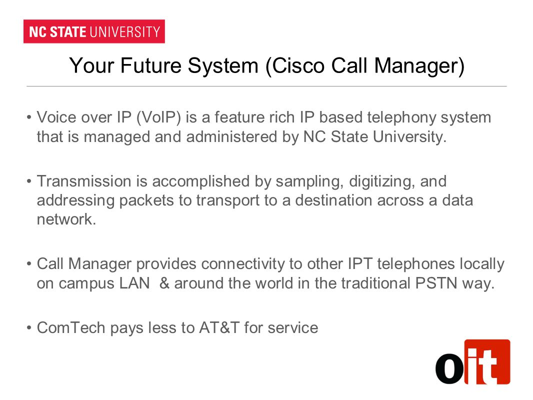 Your Future System (Cisco Call Manager)