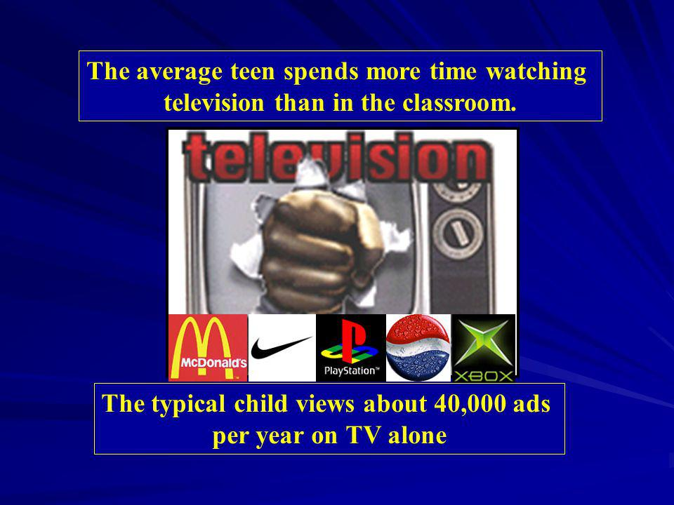 The average teen spends more time watching