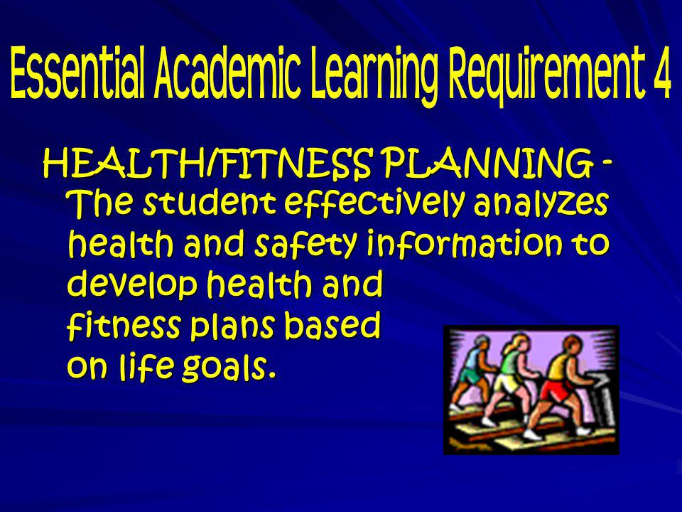 Essential Academic Learning Requirement 4