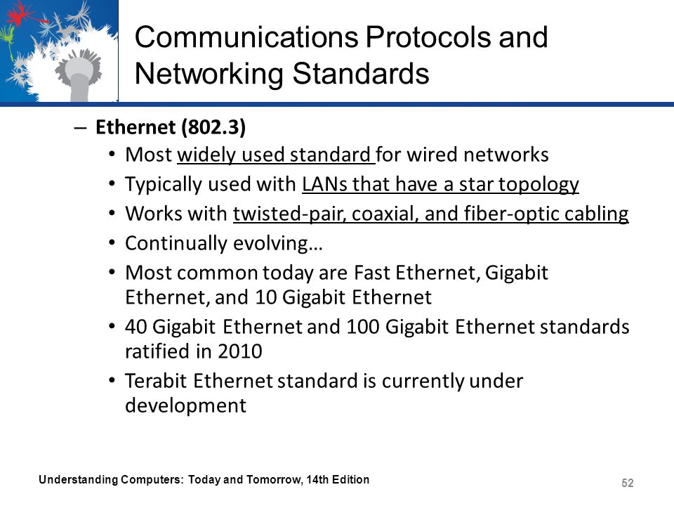 Communications Protocols and Networking Standards