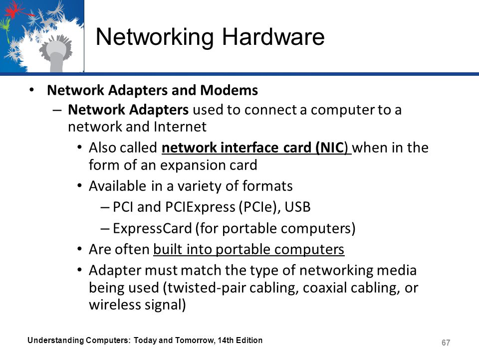 Networking Hardware Network Adapters and Modems