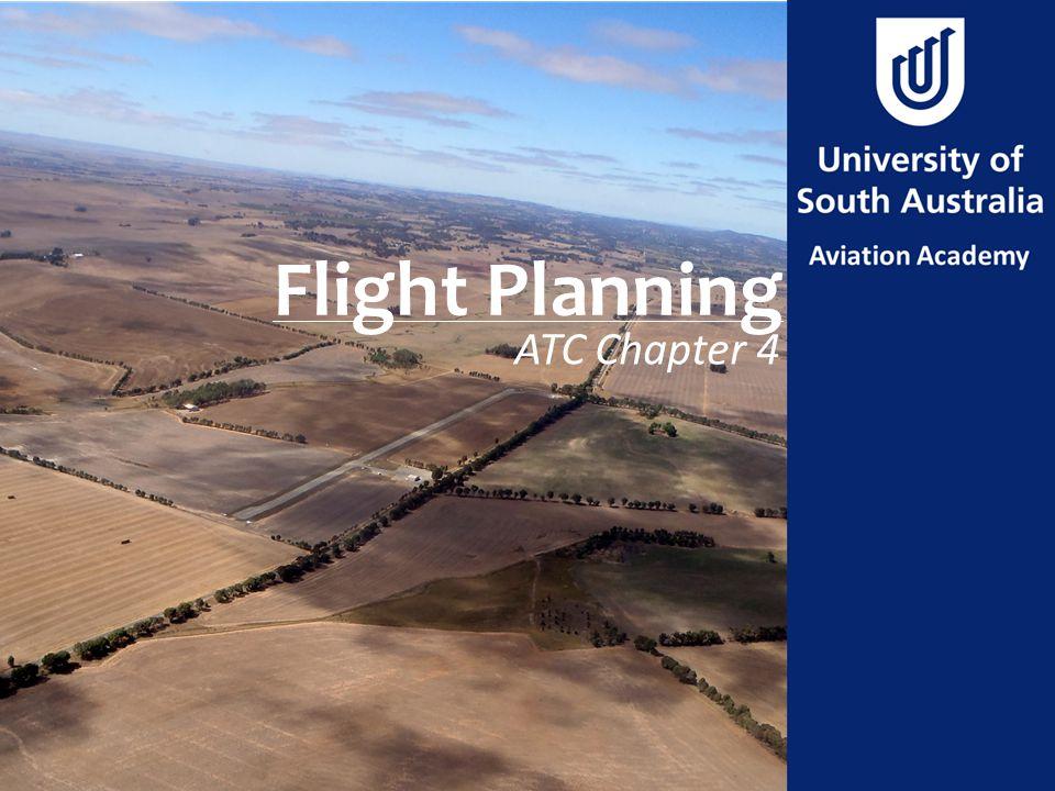 Flight Planning ATC Chapter 4
