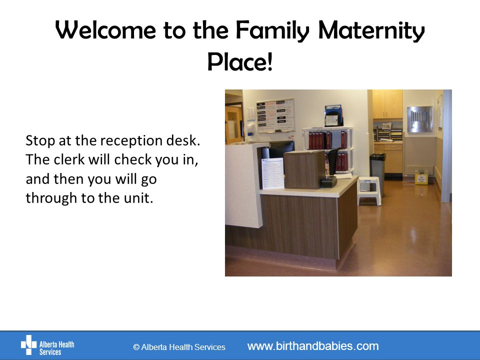 Welcome to the Family Maternity Place!