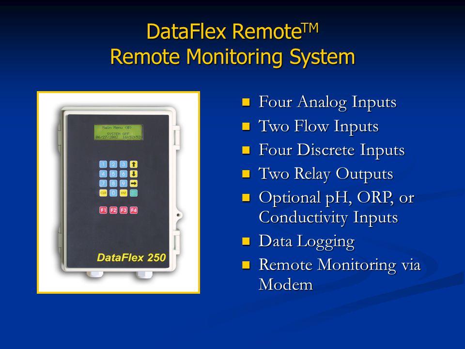 DataFlex RemoteTM Remote Monitoring System