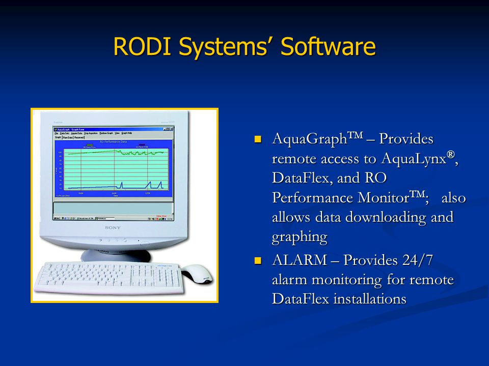 RODI Systems' Software